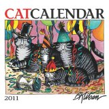 2011 Kliban Catcalendar Mini WallCalendar book written by B. B. KLIBAN