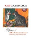 2011 Kliban Catcalendar Postcard Planner Calendar book written by B. KLIBAN