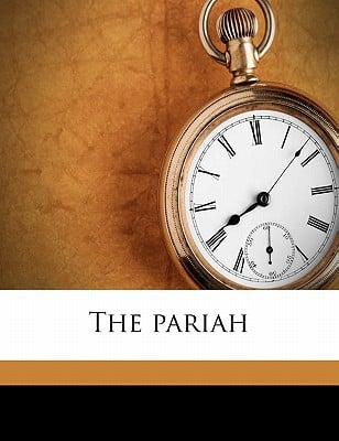 The Pariah book written by Anstey, F.