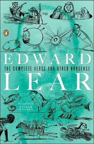 The Complete Verse and Other Nonsense book written by Edward Lear