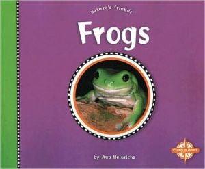 Frogs book written by Ann Heinrichs