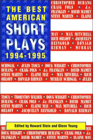 The Best American Short Plays 1994-1995 book written by Glenn Young