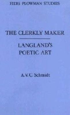 The clerkly maker book written by A.V.C. Schmidt