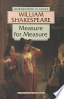 Measure for Measure (Oxford School Shakespeare Series) book written by William Shakespeare
