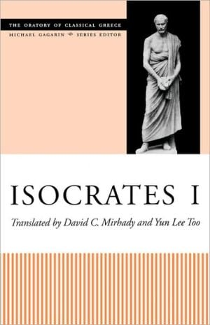 Isocrates I book written by David C. Mirhady