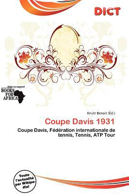 Coupe Davis 1931 written by Kn Tr Benoit