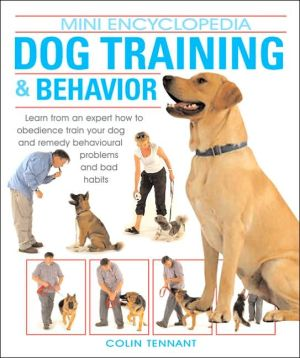Dog Training and Behavior book written by Colin Tennant