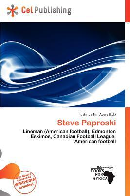 Steve Paproski written by Iustinus Tim Avery