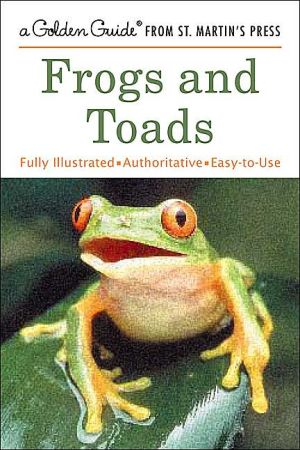 Frogs and Toads (Golden Guide Series) book written by Dave Showler
