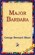 Major Barbara book written by George Bernard Shaw
