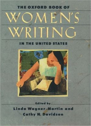 The Oxford Book of Women's Writing in the United States written by Linda Wagner-Martin