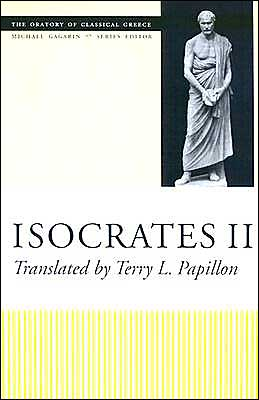 Isocrates II (The Oratory of Classical Greece, Volume 7) book written by Isocrates