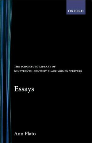 Essays book written by Ann Plato