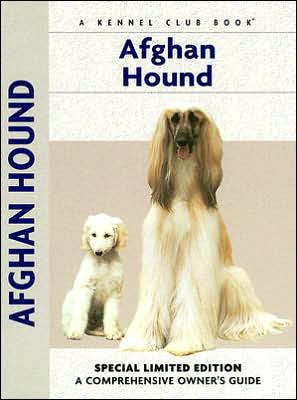 Afghan Hound book written by Bryony Harcourt-Brown