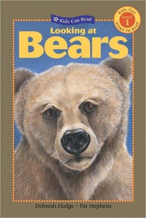 Looking at Bears book written by Deborah Hodge