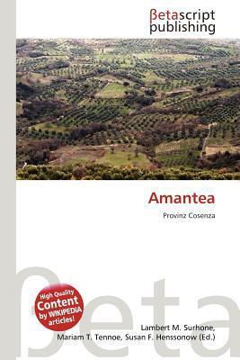 Amantea written by Lambert M. Surhone