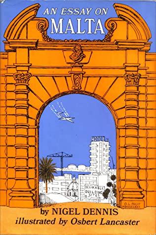 An essay on Malta written by Osbert Lancaster