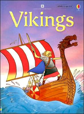 Vikings Level 2: Internet Referenced book written by Stephanie Turnbull