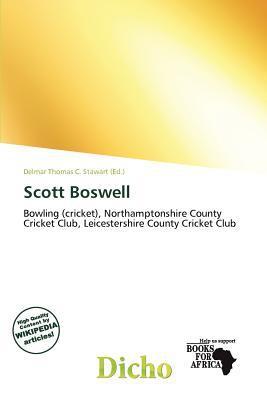 Scott Boswell written by Delmar Thomas C. Stawart