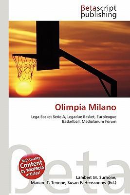 Olimpia Milano written by Lambert M. Surhone