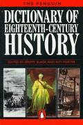 Penguin Dict.of Eighteenth-cent.history book written by Black