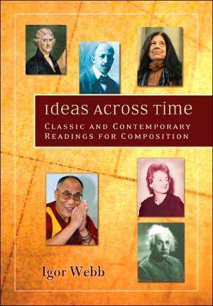 Ideas across Time book written by Igor Webb
