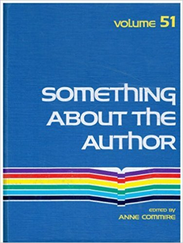 Something about the Author, Vol. 51 written by Anne Commrie