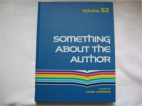 Something about the Author, Vol. 52 book written by Anne Commrie