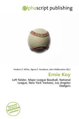 Ernie Koy written by Frederic P. Miller