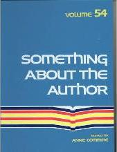 Something about the Author, Vol. 54 book written by Anne Commrie