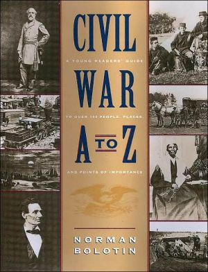 Civil War A to Z book written by Norman Bolotin