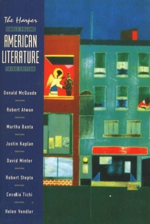 The Harper American Literature, Single Volume Edition written by Donald McQuade