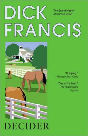 Decider book written by Dick Francis