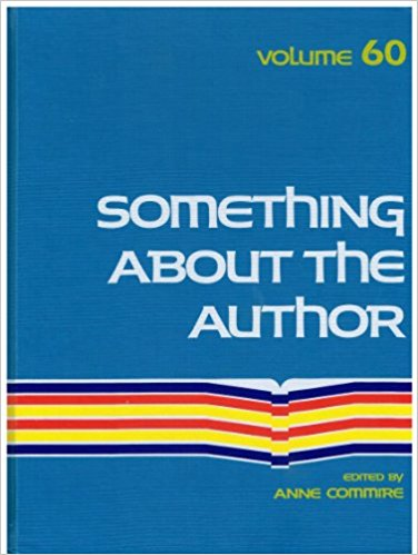 Something about the Author, Vol. 60 book written by Anne Commrie