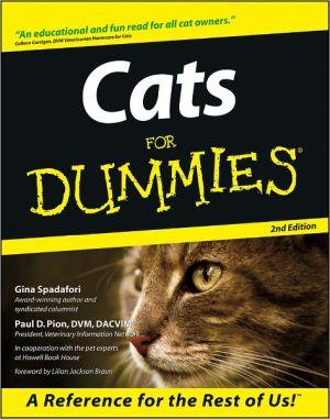 Cats for Dummies book written by Gina Spadafori