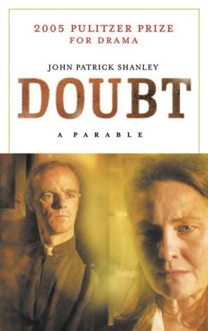 Doubt book written by John Patrick Shanley