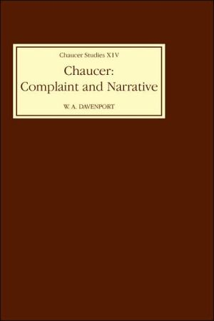 Chaucer book written by W A Davenport