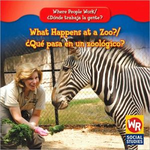 What Happens at a Zoo?/Qu' Pasa En Un Zoolgico? book written by Amy Hutchings