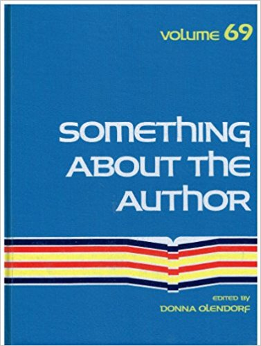 Something about the Author, Vol. 69 book written by Donna Olendorf