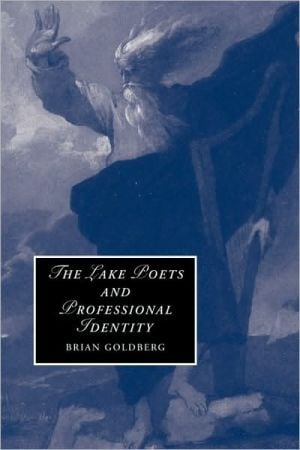 The Lake Poets and Professional Identity book written by Brian Goldberg
