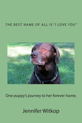 The Best Name of All Is I Love You book written by Jennifer L. Witkop