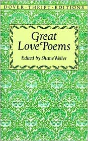 Great Love Poems book written by Shane Weller
