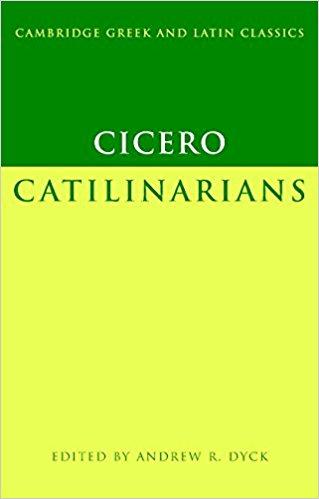 Cicero: Catilinarians book written by Marcus Tullius Cicero