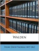 Walden book written by Henry David Thoreau