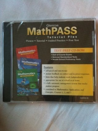 Mathematics: Applications and Concepts 20: Mathpass: Tutorial Plus CD-ROM (Win/MAC) - Multim... written by