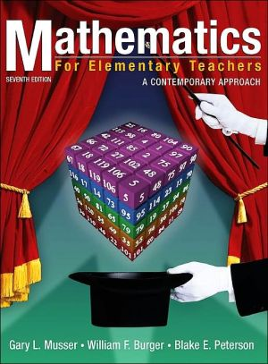 Mathematics for Elementary Teachers: A Contemporary Approach book written by Blake E. Peterson