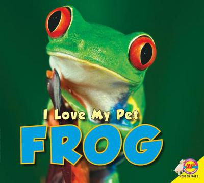 Frog book written by Aaron Carr