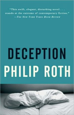 Deception book written by Philip Roth