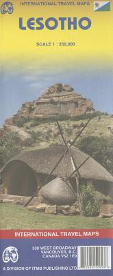 Lesotho, Scale 1: 350,000 written by International Travel Maps