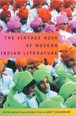 The Vintage Book of Modern Indian Literature written by Amit Chaudhuri